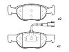 Pastillas de freno Brake Pad Set:9 950 714