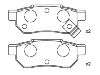 Pastillas de freno Brake Pad Set:43022-ST3-E00